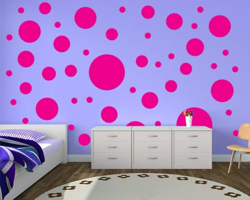 Circle Dots Room Decor Decals