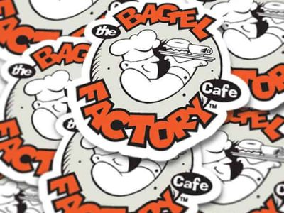 Custom Shape Restickable Stickers