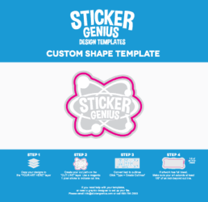 Custom Shape Design Template