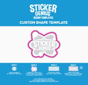 Custom Shape Design Template