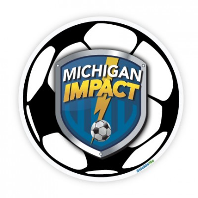 Michigan Impact Soccer Sticker