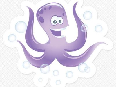 Octopus Wall Graphic