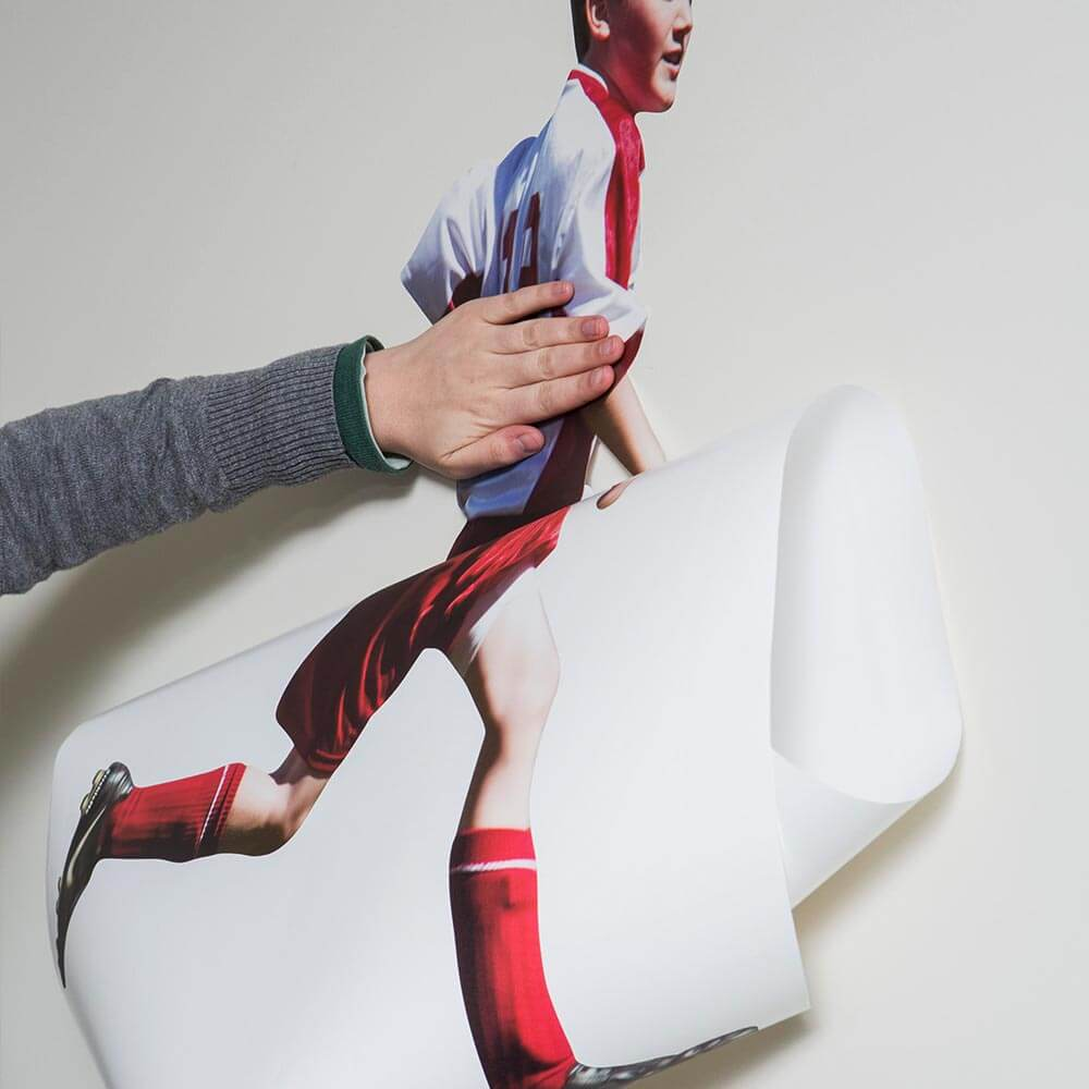 Sports Photo Cutout Wall Sticker