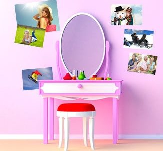 Restickable Photo Stickers