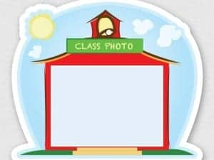 Class Photo Sticker