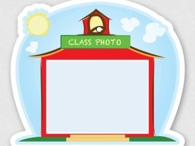 Class Photo Sticker