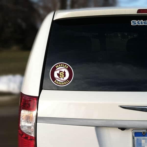Sports Team Car Decals Custom Vinyl Car Sticker