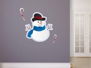 Snowman Reusable Wall Graphic