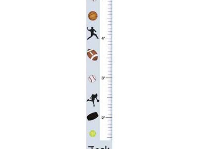 Kids Sports Growth Charts