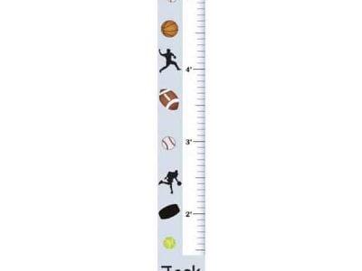 Kids Sports Growth Charts