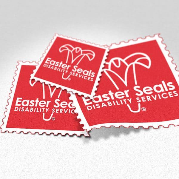 Square Restickable Stickers