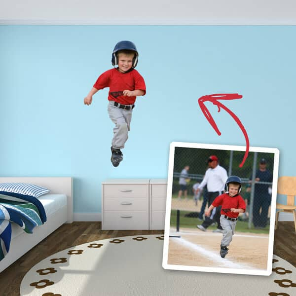 Photo Cutout Wall Stickers