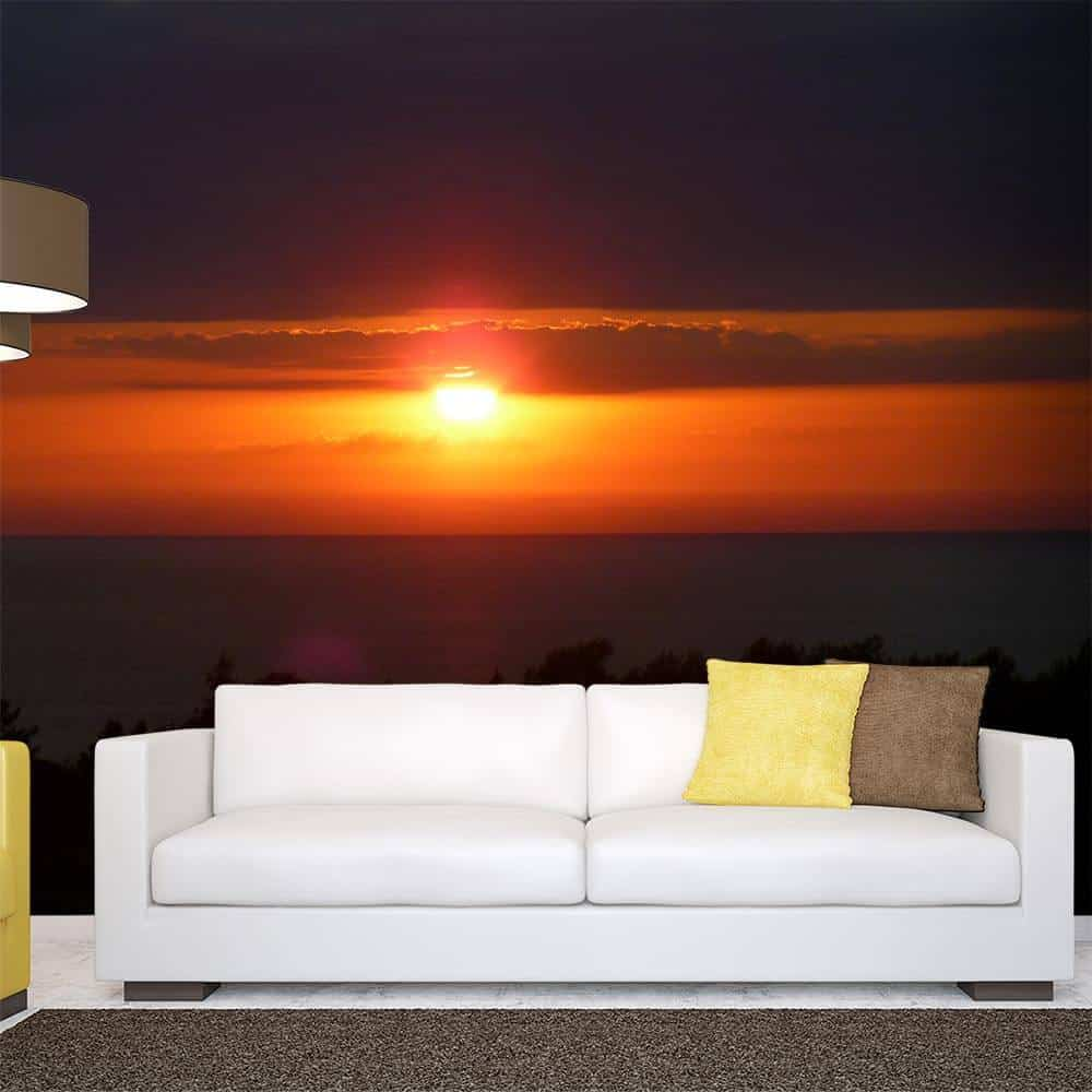 Custom wall murals wall mural stickers sticker genius for Custom wall photo mural