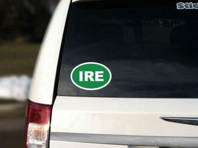 Ireland Green Car Sticker