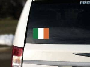 Ireland Flag Car Sticker