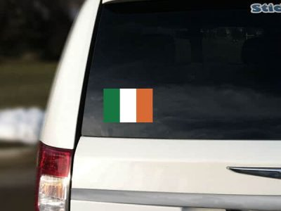 Ireland Flag Car Sticker