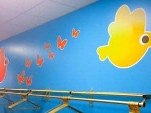 Nursery Facility Wall Stickers