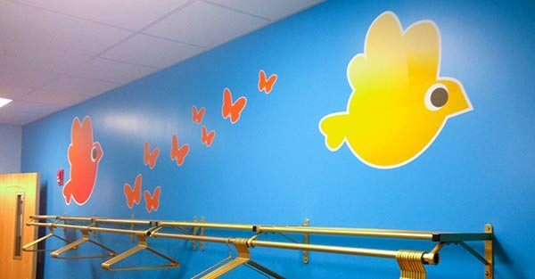 Nursery Facility Wall Stickers
