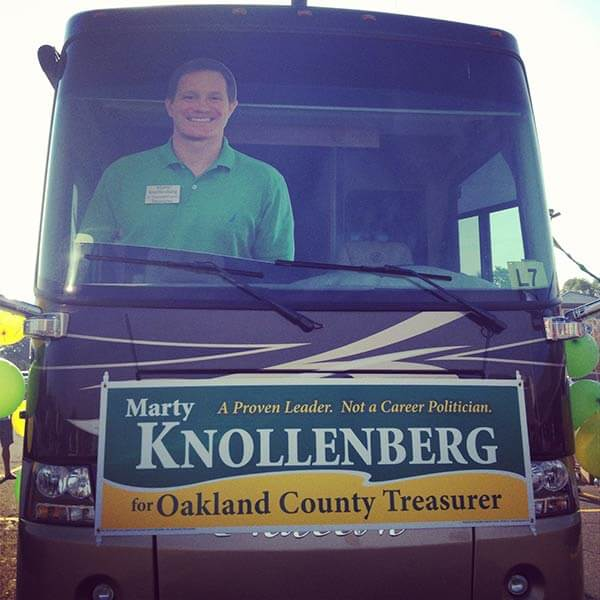 Knollenberg Bus Graphics Removable