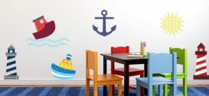 Sailing Wall Decor Theme