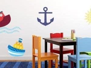 Sailing Wall Decor Theme