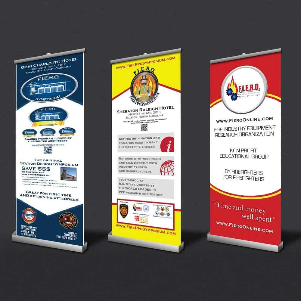 Custom Roll Up Banners Retractable