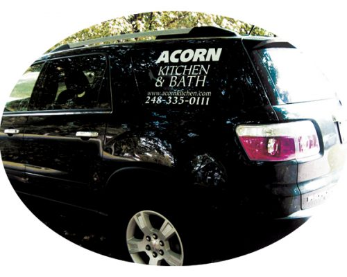 Vehicle Window Stickers Custom