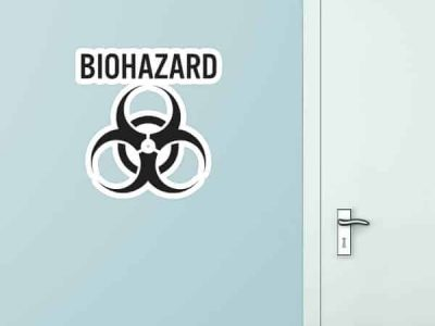 Biohazard Custom Wall Graphic