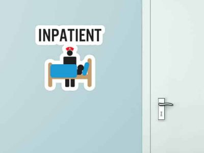 Inpatient Custom Wall Graphic