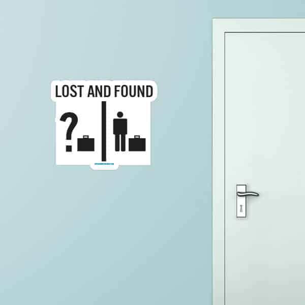 Lost And Found Custom Wall Graphic