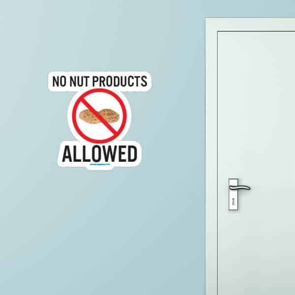 No Nut Products Custom Wall Graphic