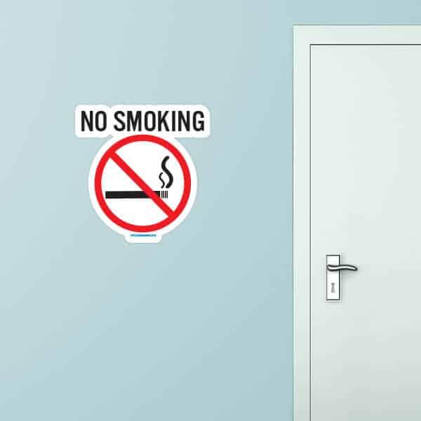 No Smoking Custom Wall Graphic