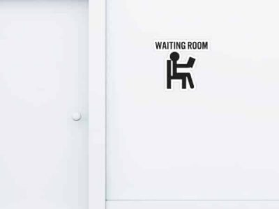 Waiting Room Custom Wall Graphic