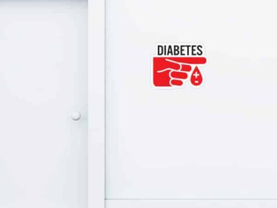 Diabetes Custom Wall Graphic