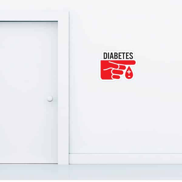 Diabetes Custom Wall Graphic