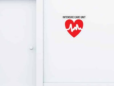 Intensive Care Unit Custom Wall Graphic