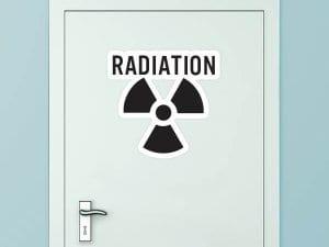 Radiation Custom Door Graphic