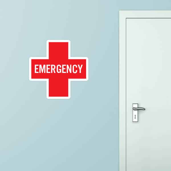 Emergency Custom Wall Graphic