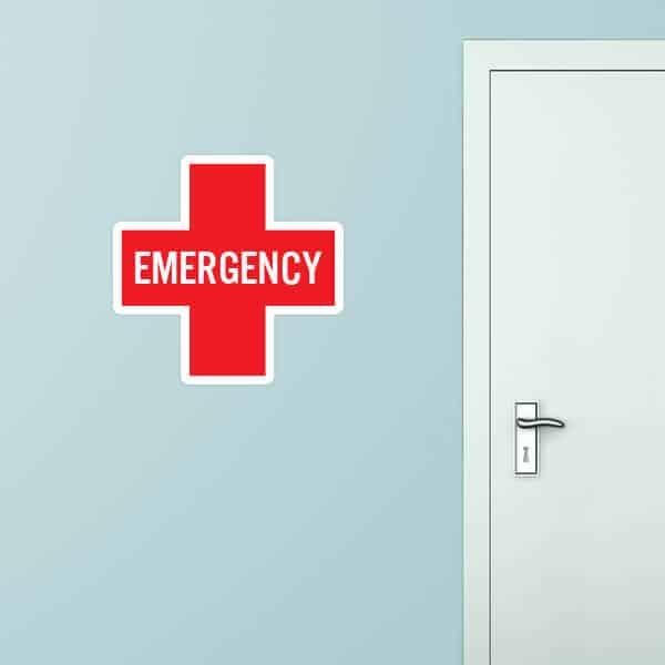Emergency Custom Wall Graphic
