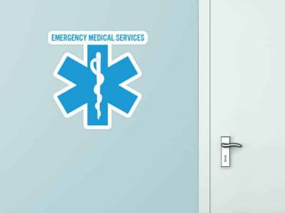 Emergency Medical Services Custom Wall Graphic
