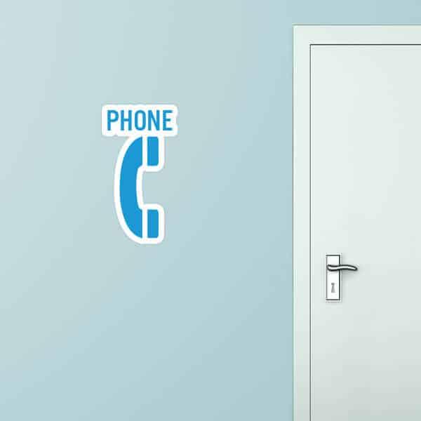 Phone Custom Wall Graphic