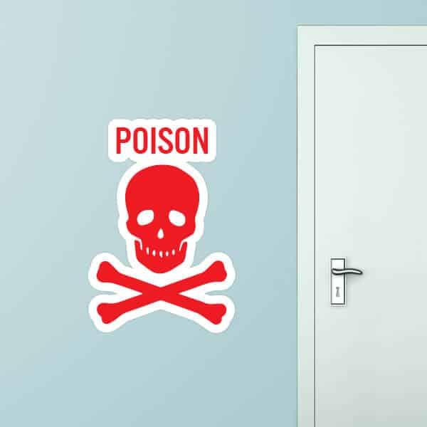 Poison Custom Wall Graphic