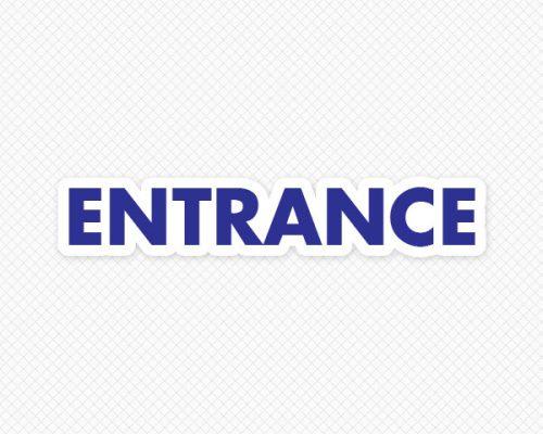 Entrance Door Graphic  sc 1 st  Sticker Genius & Please Use Other Door Decal   Decals for Doors