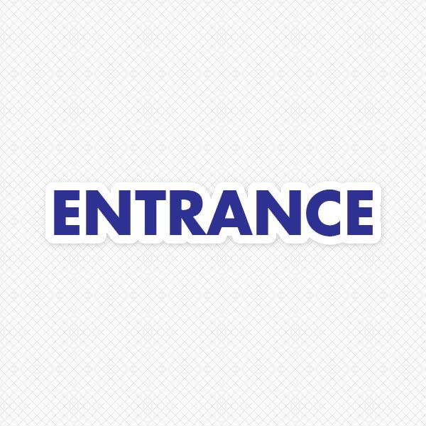 Entrance Door Graphic