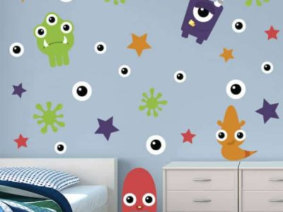 Monsters Wall Decor