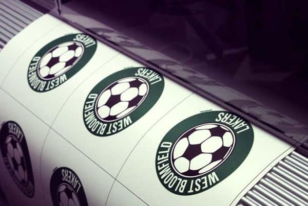 Soccer Car Stickers