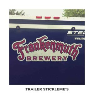 Custom Trailer Removable Decals