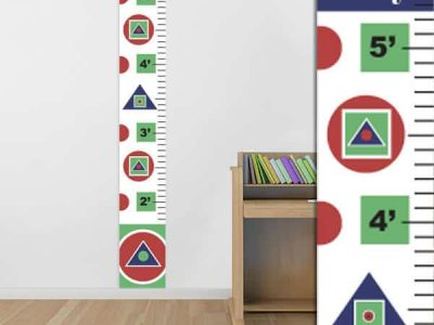 Abstract Shapes Growth Chart