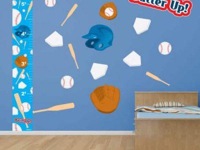 Baseball Room Decor Bundle