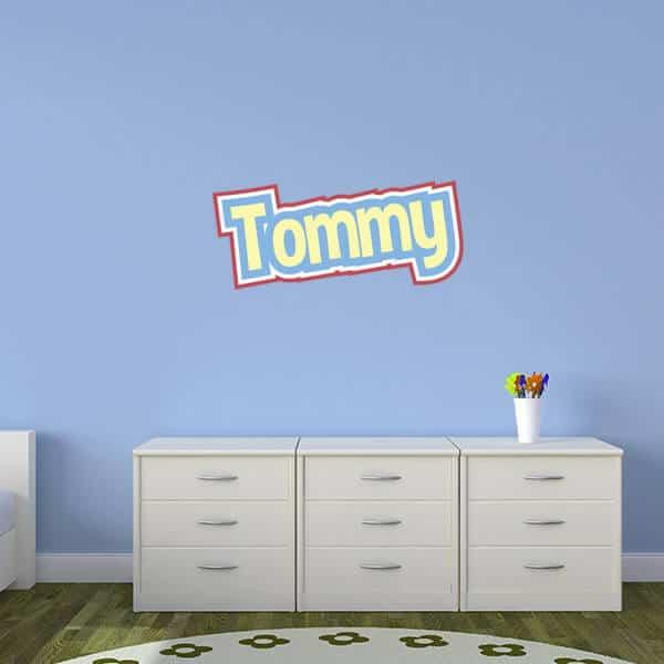 Cute Corgis Theme Wall Name